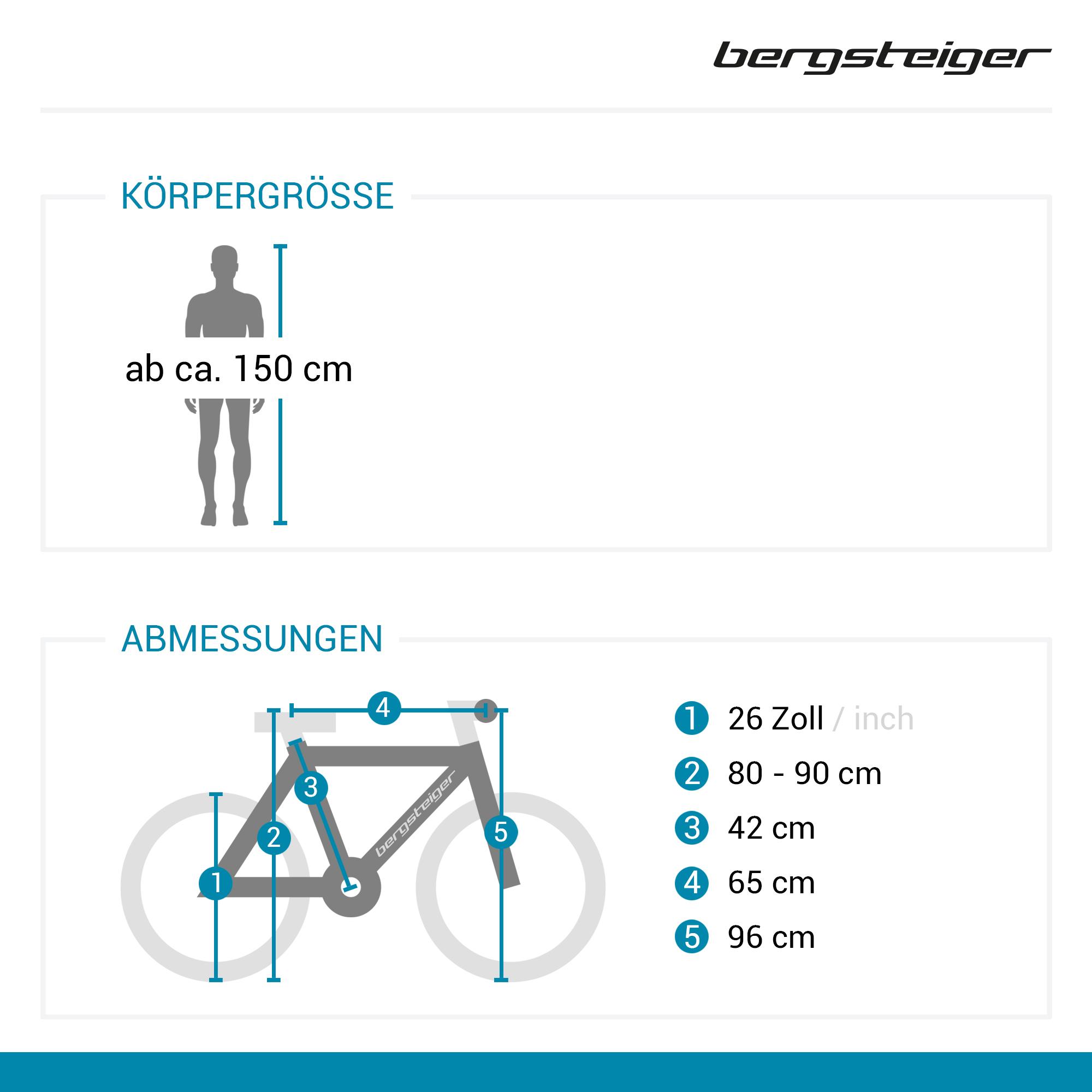 26 mountainbike kodiak bergsteiger fahrr der mountainbikes citybikes kinderfahrr der bmx